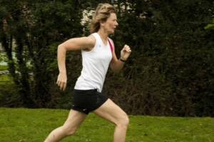 Photograph of runner in Sutton Surrey
