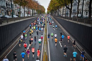 Constant road running may cause injury breakdown