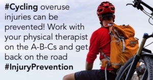 Cyclists need sports massage for injury prevention